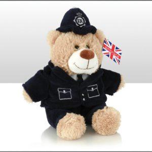 18CM POLICEMAN BEAR