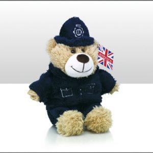 15CM POLICEMAN BEAR