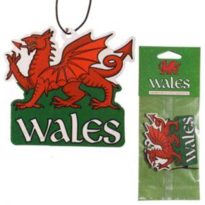 Ceredigion Breeze Welsh Dragon Wales Air Freshener
