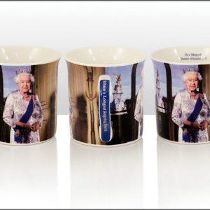 John Swannell Queen Regal Mug