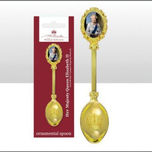 John Swannell Queen Ornamental Teaspoon