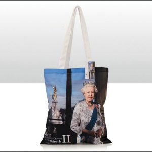 John Swannell Queen Cotton Tote Bag