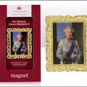John Swannell Queen Metal Magnet