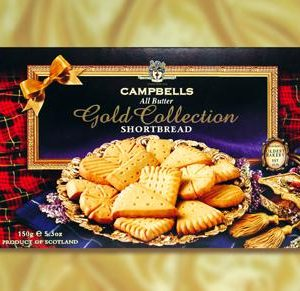 150g Gold Assortment Shortbread