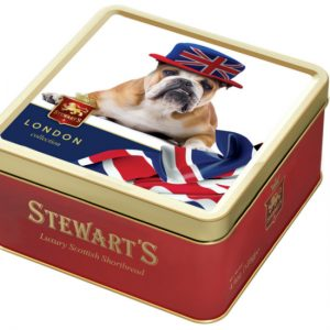 125g SHORTBREAD TIN – GENTLEMAN JACK BULLDOG