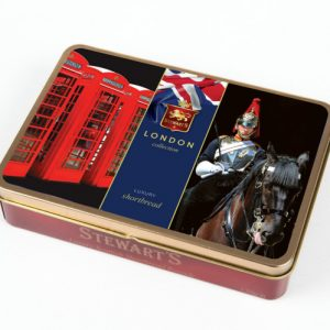150g SHORTBREAD TIN – CAVALRY/TEL BOXES