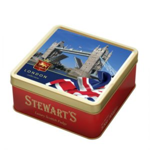 100g FUDGE TIN – TOWER BRIDGE
