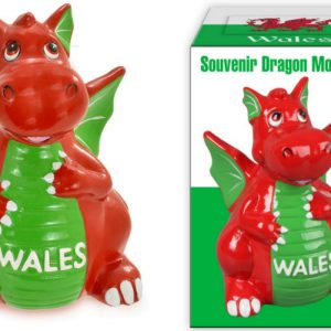 14cm Wales Dragon Moneybox