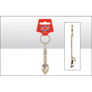 Big Ben Spoon Bottle Opener Keyring