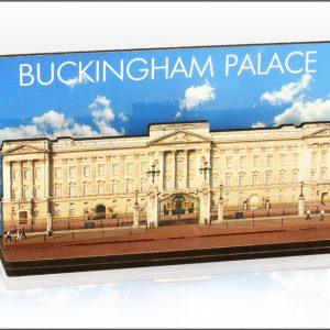 Buckingham Palace Photo Wood Layered Magnet