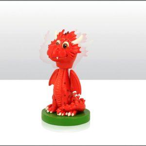 Dragon Bobble Head Figure